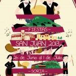Los protagonistas anunciarán las Fiestas de San Juan 2013