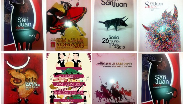 Carteles finalistas concurso San Juan 2013