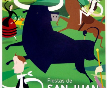 Cartel anunciador San Juan 2014