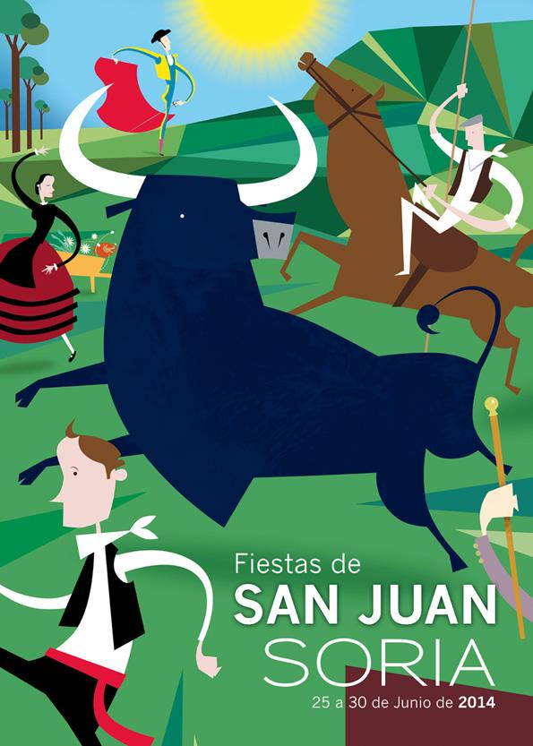 Cartel Fiestas de San Juan 2014