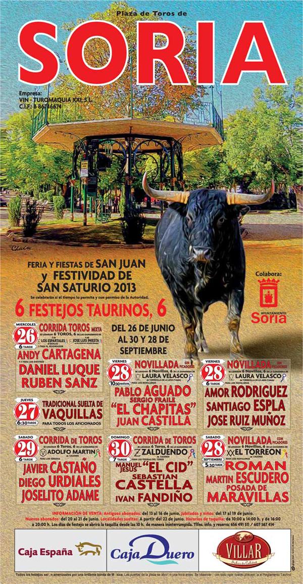 feria taurina San Juan 2013