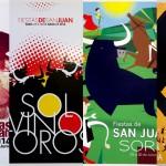 Carteles Finalistas Concurso de las Fiestas de San Juan 2014